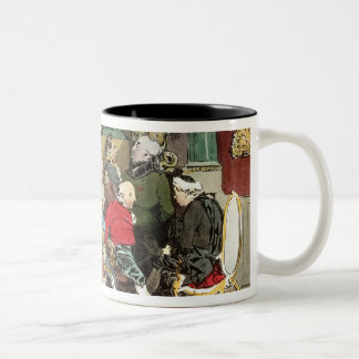 Le Faubourg Saint-Germain, engraved by Delpech Two-Tone Coffee Mug