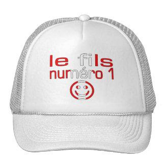 Le fils Numéro 1 - Number 1 Son Canadian Trucker Hat