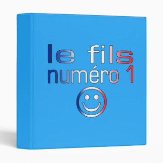 Le fils Numéro 1 - Number 1 Son in French 3 Ring Binder