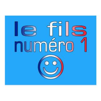 Le fils Numéro 1 - numere a 1 hijo en francés Postal