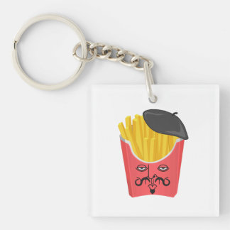 Le French Fries from France Keychain