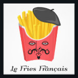 "Le French Fries from France Photo Print<br><div class=""desc""></div>"