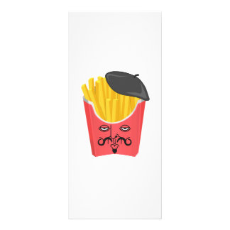 Le French Fries from France Rack Card