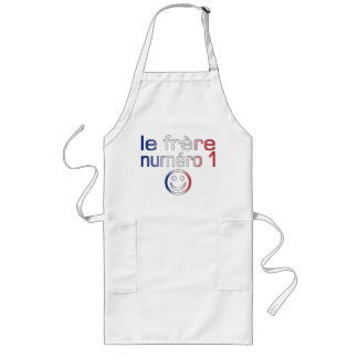 Le Frère Numéro 1 ( Number 1 Brother in French ) Long Apron