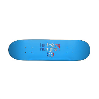 Le Frère Numéro 1 ( Number 1 Brother in French ) Skateboard Deck