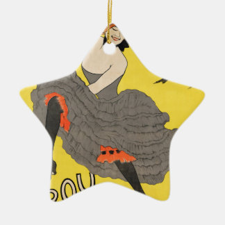 Le Frou Frou 20', Journal Humoristique Ceramic Ornament