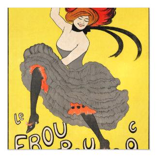 Le Frou Frou 20', Journal Humoristique Magnetic Card