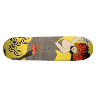 Le Frou Frou 20', Journal Humoristique Skateboard Deck