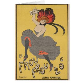 Le Frou Frou Card