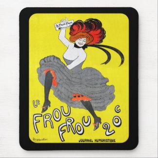Le Frou Frou Journal Humoristique Mouse Pad