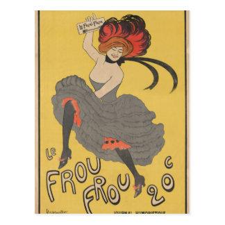 Le Frou Frou Postcard
