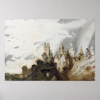 Le Gai Chateau Poster