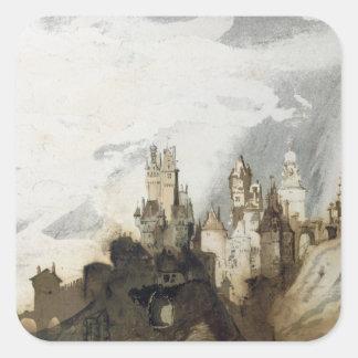 Le Gai Chateau Stickers