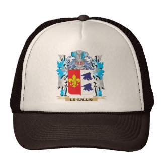 Le-Gallic Coat of Arms - Family Crest Trucker Hat