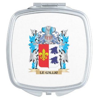 Le-Gallic Coat of Arms - Family Crest Mirrors For Makeup