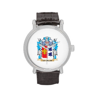 Le-Gallic Coat of Arms - Family Crest Wrist Watches