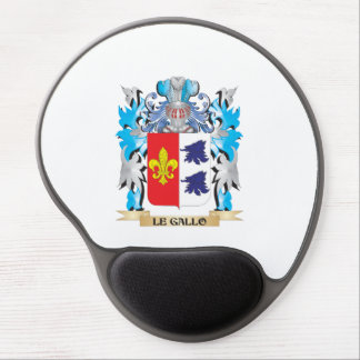 Le-Gallo Coat of Arms - Family Crest Gel Mousepad
