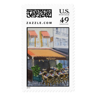 Le Grand Cafe Fontainebleau France Postage