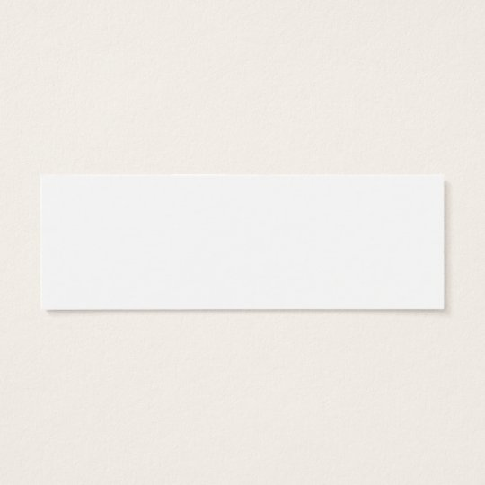 Le Grand Cafe Fontainebleau skinny bookmark Mini Business Card