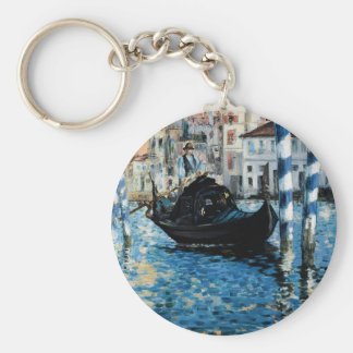 Le Grand Canal à Venise - Edouard Manet Keychain