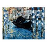 Le Grand Canal à Venise - Edouard Manet Post Card