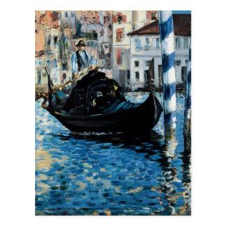 Le Grand Canal à Venise - Edouard Manet Postcard