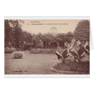Le Grand Cercle y ses Jardins Felicitacion