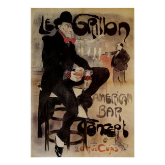 Le Grillon - French Art Print