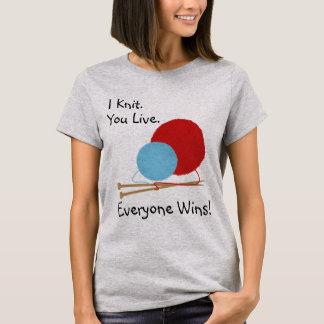 Le hago punto vivo diseño divertido de la camisa