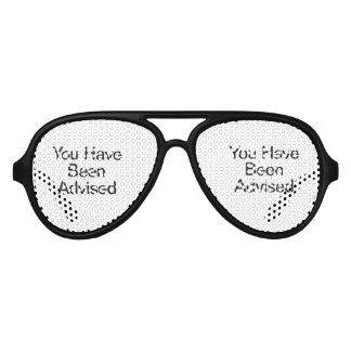 le han aconsejado gafas de sol