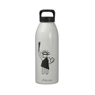le hará libre botella de agua reutilizable