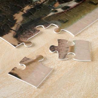 Le Havre - ayuntamiento y jardines Puzzle