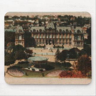 Le Havre - ayuntamiento y jardines Alfombrillas De Ratón