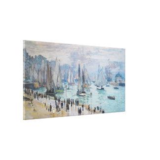 Le Havre, Bâteaux de Peche Sortant du Port | Monet Canvas Print