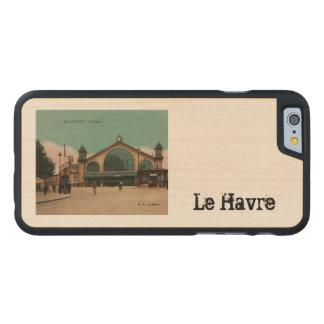 Le Havre La Gare railway station France Carved Maple iPhone 6 Slim Case