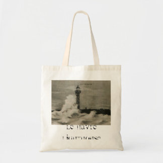 Le Havre Lighthouse 1920 replica Tote Bag