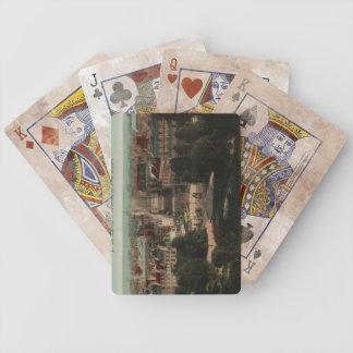 Le Havre Panorama de a rue de Paris Bicycle Playing Cards