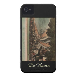 Le Havre Panorama France Postcard 1920s iPhone 4 Cover