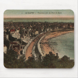 Le Havre Panorama France Postcard 1920s Mouse Pad