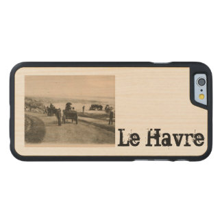 LE HAVRE - Sainte Adresse - bulevar Felix Foure Funda De iPhone 6 Carved® Slim De Arce