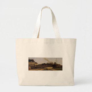 Le Havre, the Town Hotel and the Francois I Tower Jumbo Tote Bag
