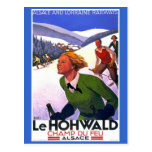 """""""Le Hohwald"""" Vintage French Travel Poster Post Cards"""