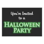 Le invitan a un fiesta de Halloween Comunicado