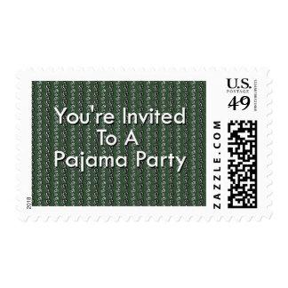 Le invitan a un fiesta de pijama envio