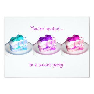 ¡Le invitan… a un fiesta dulce! Anuncios Personalizados