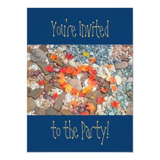 """¡Le invitan al fiesta! Cumpleaños de las Invitación 5.5"""" X 7.5"""""""