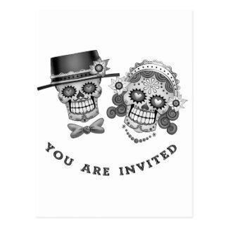 Le invitan - boda, boda, votos tarjetas postales