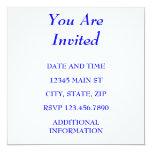 LE INVITAN INVITACIÓN 13,3 CM X 13,3CM