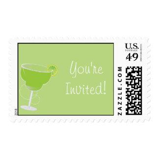 ¡Le invitan! Invitación de Margarita Sellos Postales