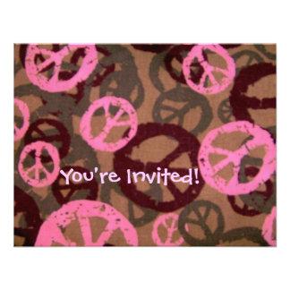 ¡Le invitan - Los signos de la paz invitan Invitación